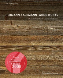 copertina di Hermann Kaufmann - Wood Works