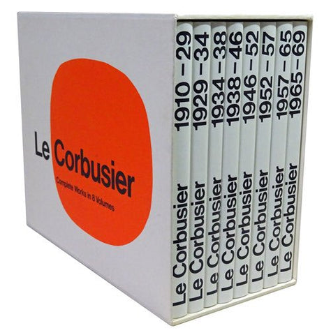 LE CORBUSIER. Complete Works (8 Voll.)