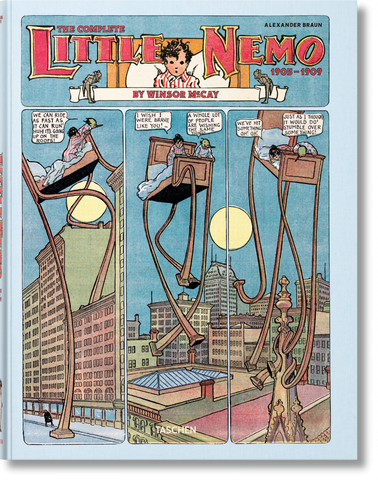 WINSOR MCCAY. THE COMPLETE LITTLE NEMO 1905-1909 (FP)