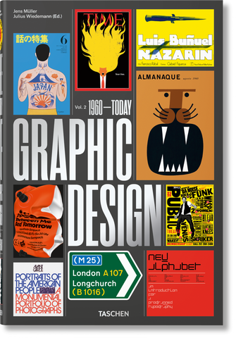 THE HISTORY OF GRAPHIC DESIGN (Vol. 2: 1960–Today)