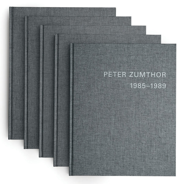 PETER ZUMTHOR 1985-2013. Buildings and Projects (5 Voll.)