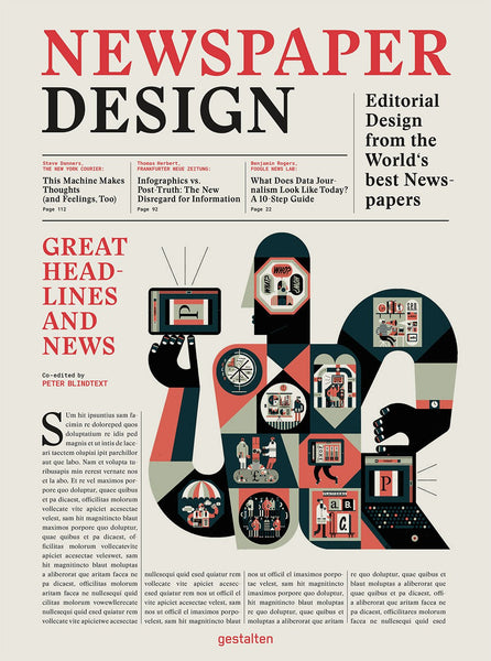NEWSPAPER DESIGN. Editorial Design from the World's Best Newsrooms