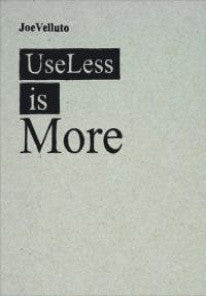 copertina di Useless Is More