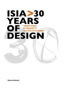 copertina di Isia>30 Years of Design