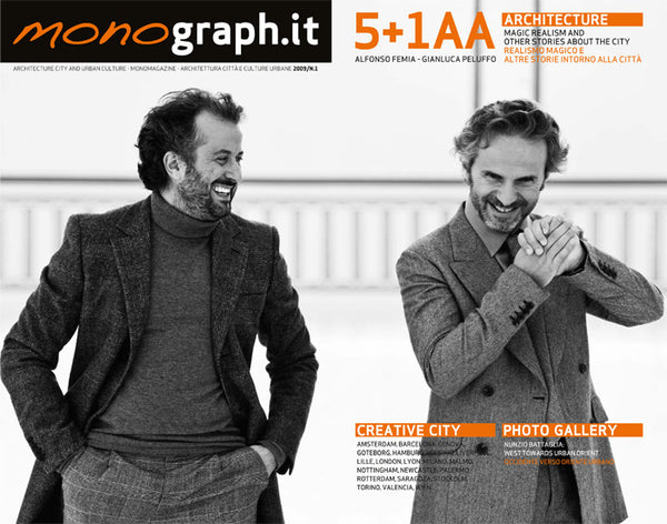 MONOGRAPH.IT n.1: Studio 5+1 AA / Creative City / Nunzio Battaglia