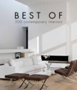 copertina di Best of 500 Contemporary Interiors