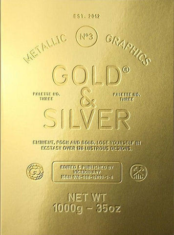 PALETTE 03: GOLD & SILVER. Metallic Graphics