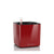 Lechuza Cube 14 Glossy Red Planter | My City Plants