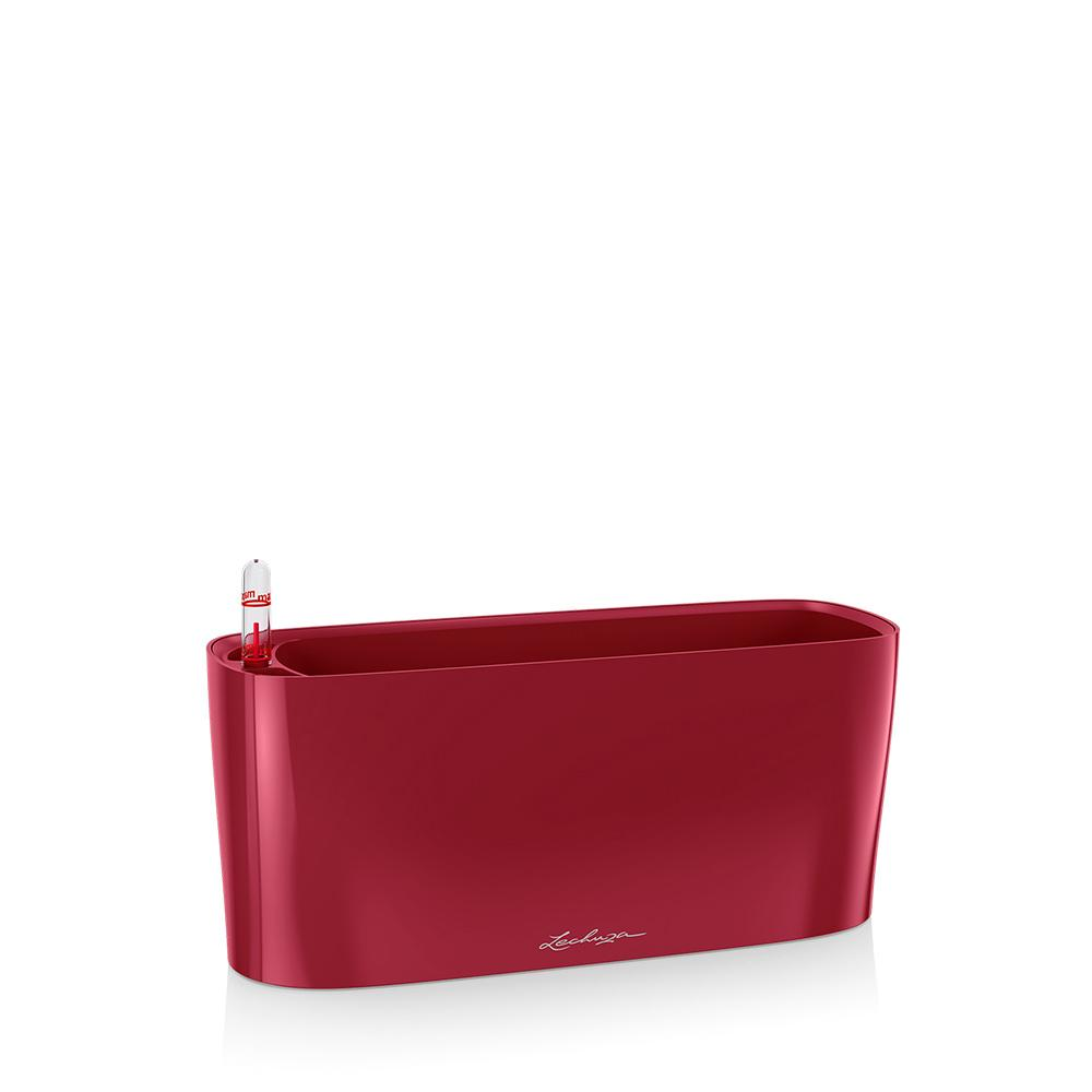 Lechuza Delta 10 Planter - Scarlet Red