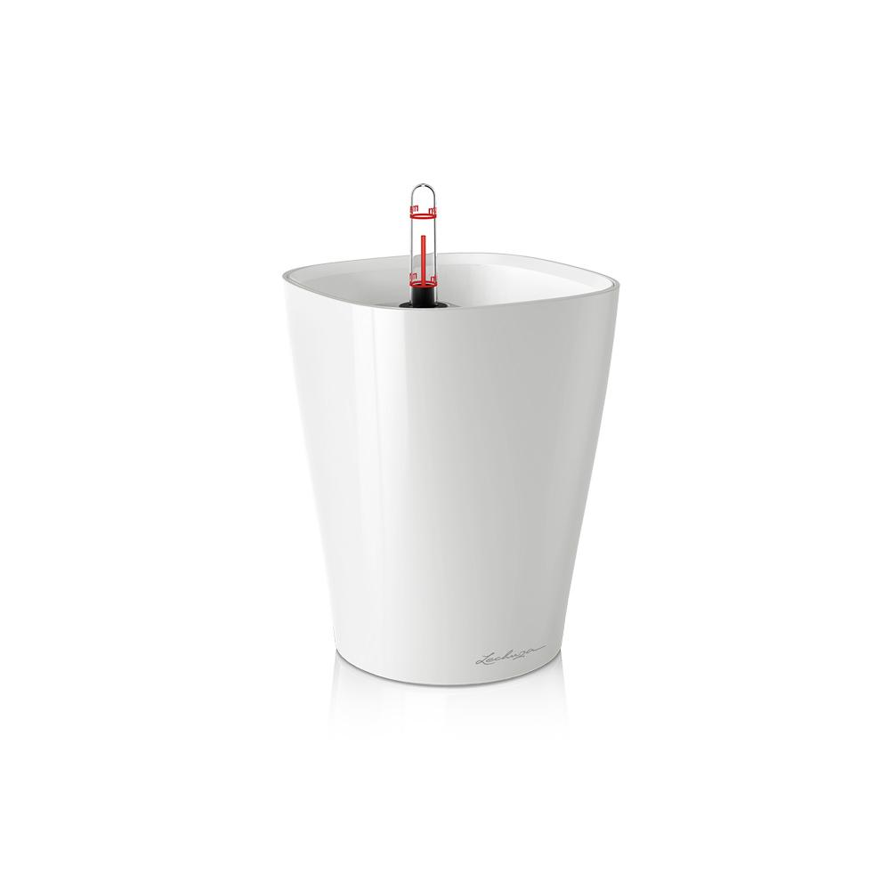 Lechuza Deltini Planter - White