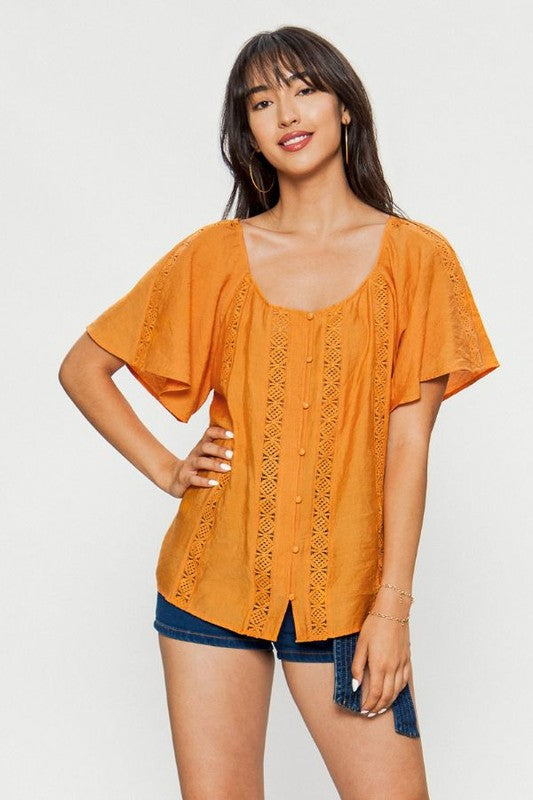 Meelo Lace Top