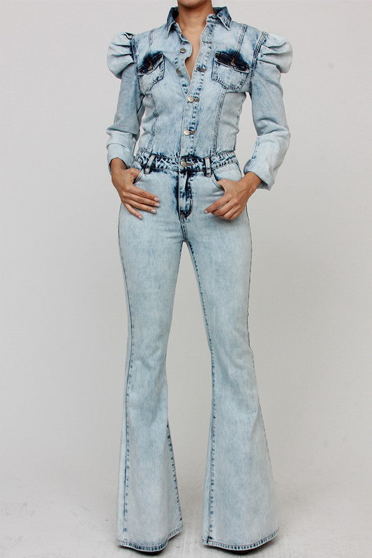 Mysha Denim Jumpsuit