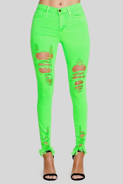 Glow Distressed Jeans