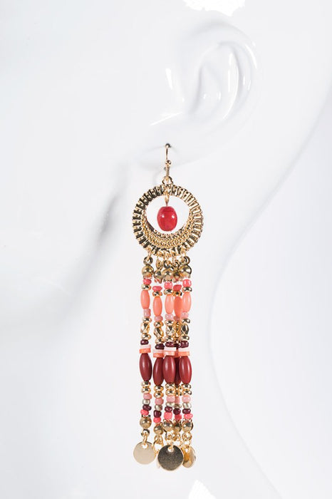 Bohemian Bead Earrings