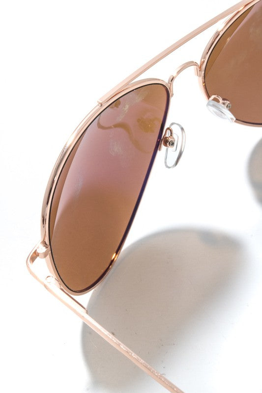 Ginger Aviator Shades