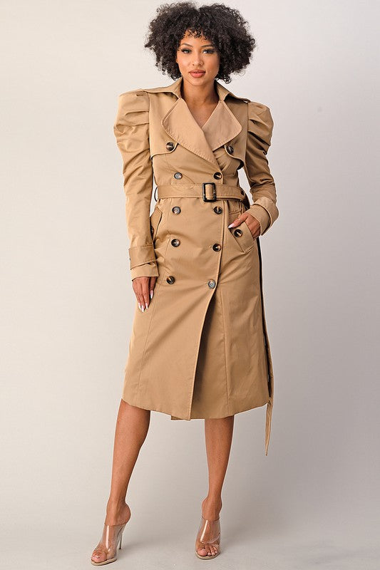Girl Boss Trench Coat
