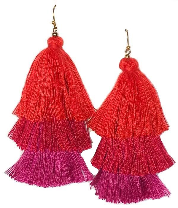 Aden Tassel Earrings