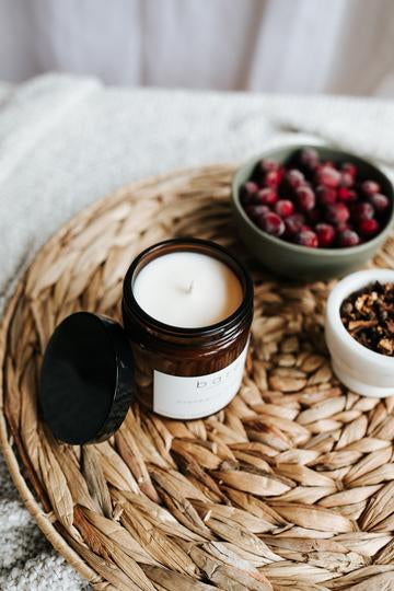 Cranberry + Spice Soy Candle
