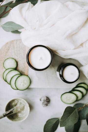 Cucumber & Melon Standard Size Candle