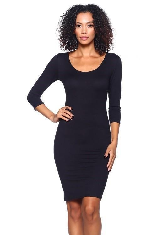 Jaya Fit Scoop Mini Dress