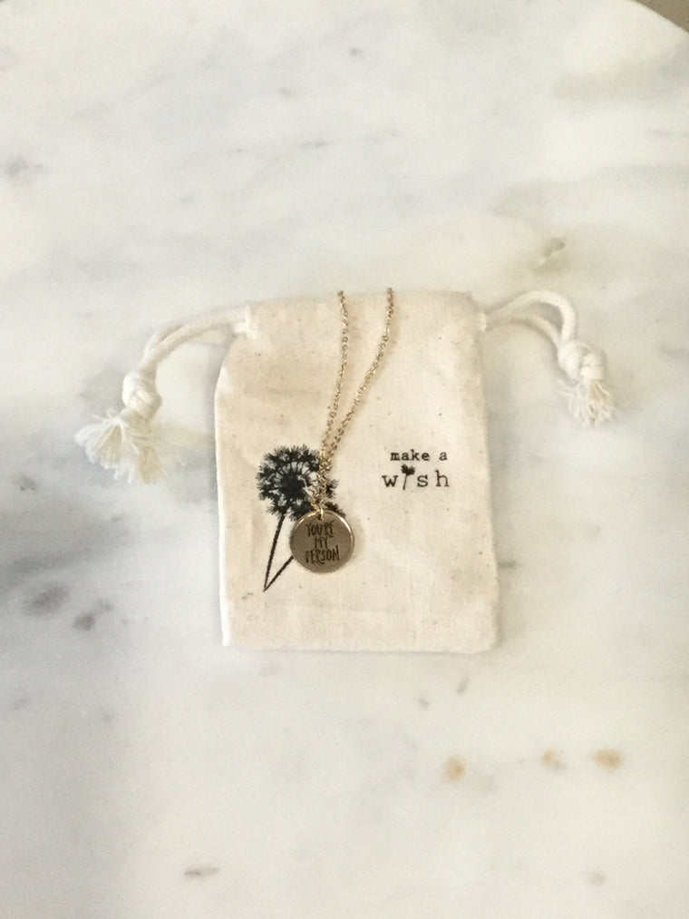 MAW You're My Person! Necklace