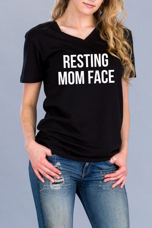 Resting Mom Face T Shirt