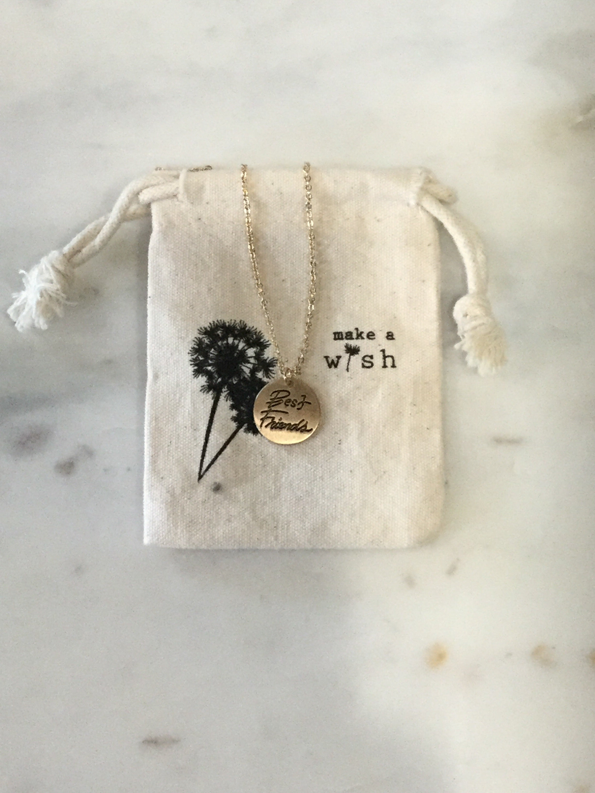 MAW Best Friends Necklace