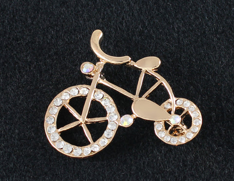 Brooch - Bejeweled Bicycle