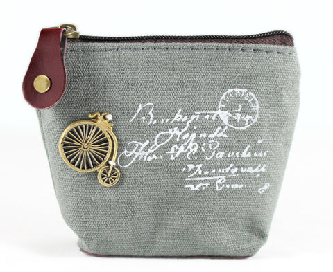 Coin Purse - Penny-Farthing Bicycle