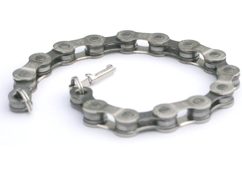 Upcycled Bike Chain Bracelet - 2 sizes