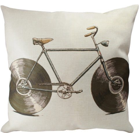 Pillow Cover: Audiophile