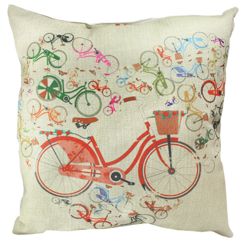 Pillow Cover: Bike Lover