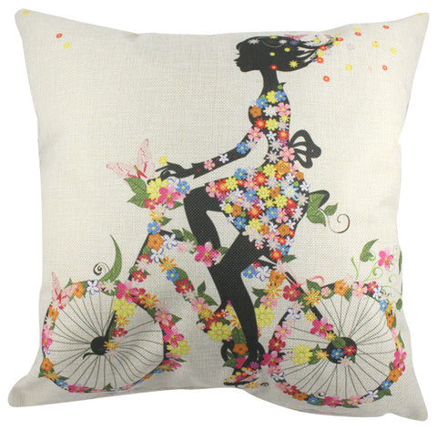 Pillow Cover: Flower Power