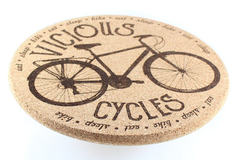 Hot Pad - Vicious Cycles: Eat. Sleep. Bike