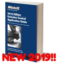 MITCHELL 2019 Emission Control Application Guide