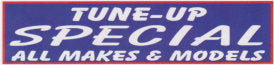 Tune-Up Special All Makes & Models Banner, 3' X 8'