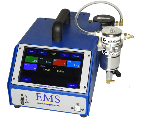 ON SALE NOW!!! EMS 5003 PORTABLE 5 GAS EXHAUST ANALYZER, MADE IN U.S.A.