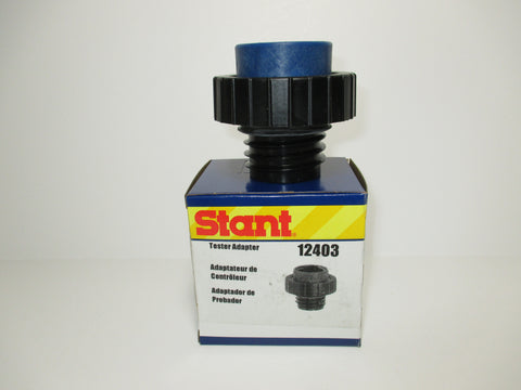 STANT FUEL CAP ADAPTER 12403, BLUE