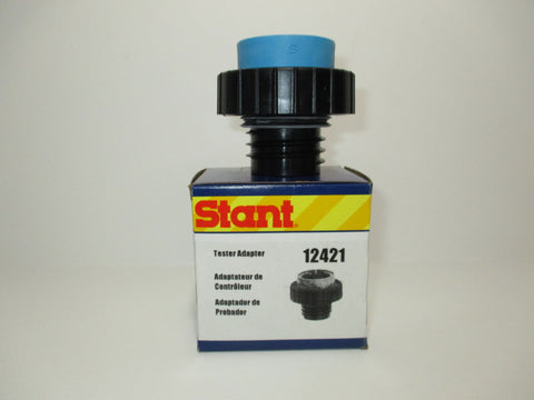 STANT FUEL CAP ADAPTER 12421, LT. BLUE