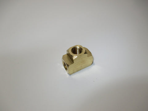 Extruded Female Tee, Brass, 1/8 Inch, P.N. FT03