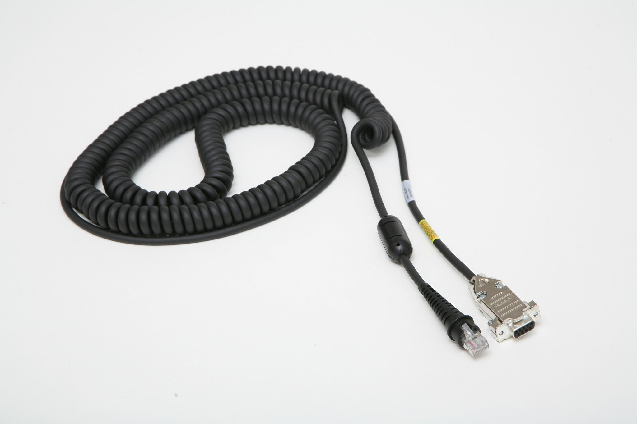 WORLDWIDE BAR CODE SCANNER CABLE P.N. 700-0410, 42206261-01 RS 232 SERIAL CABLE