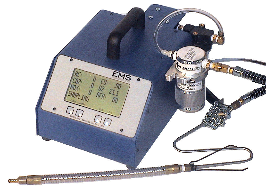 EMISSIONS SYSTEMS, INC. 5 GAS EXHAUST ANALYZER, NO. EMS 5002