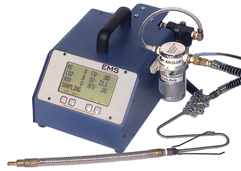 EMISSIONS SYSTEMS, INC. 5 GAS EXHAUST ANALYZER, NO. EMS 5002-5