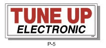 TUNE ELECTRONIC SIGN, P-5