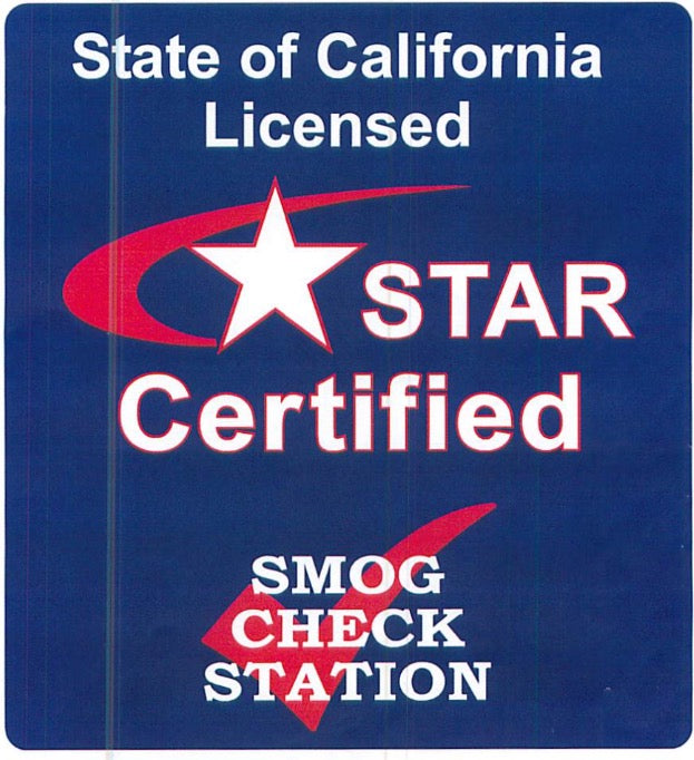 Star Certified Smog Check Sign, STAR CERTIFIED SIGN