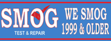 Smog Banner, Smog Check Banner, Test and Repair Banner
