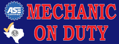 Texas - Mechanic On Duty | Vinyl Banner