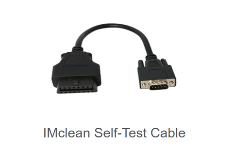 "Drew IMclean Self-Test Cable, 9"", DAD-CBL-J1962F-01"