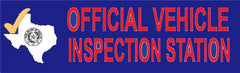 Texas Official Inspection Station | Vinyl Banner