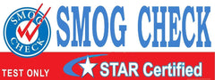 Smog Check | Star Certified | Test Only | Vinyl Banner